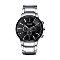 best resistance bands - CURREN Fashion Men Business Wristwatch Water Resistance Stainless Steel Band Luxury Classic Watch Best Gift