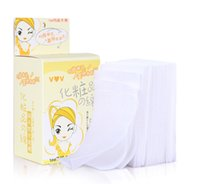 Wholesale box Hot Sale Eyes Facial Cleansing Cotton Cosmetic Make Up Remover Pads for Women Gift