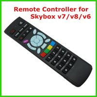 Wholesale 10pcs Original Remote Control for Original Skybox A3 A4 M5 S V6 V7 V8 S V6 S V7 S V8 Skybox Satellite receiver