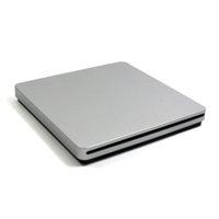Wholesale DHL Shipping Super Slim USB Slot In DVD CD Drive Burner CD RW DVD ROM DVD RW External Optical Drive Silver waitingyou