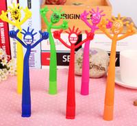bendable figures - Smile figures Pen Soft rubber pen Bendable ballpoint pen
