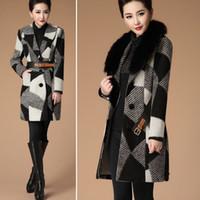 best boutique - High end Boutique Winter Coats for Women Fox Collar Long Coats for Women Best Womens Winter Coats WT