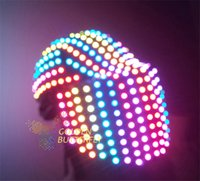 Wholesale Customized Luminous Helmets Full Color Glowing Motorcycle Helmets for Men and Women PVC Material V Voltage Strobe Flash and Fade Modes
