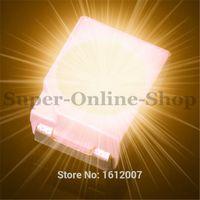 amber chip beads - 500 Orange Amber SMD SMT LED PLCC POWER TOP V DC Lamp Bead nm SMD Chip for All Kinds of LED Light