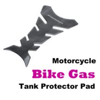 Wholesale New Motorcycle Tank Sticker Black Carbon Fiber