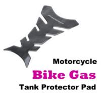 Wholesale New Motorcycle Tank Sticker Black Carbon Fiber