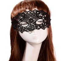 Wholesale 2014 New Fashion Statement Halloween Mask Black Lace Mask High Quality Statement Female Mask Cosplay Party Unicorn Mask