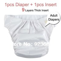 Wholesale Adjustable Adult Diapers Adult Nappies Cloth Diapers Incontinence Diapers Pants Layers Insert Diaper Insert AD