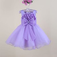 baby nest - Baby Girls Spaghetti Organza Evening Dress Ball Gown Knee Length New Fashion Gilrs Nest Party Dresses Flower Girl Dress