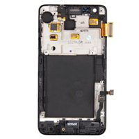 s2 i9100 - 1 piece For Samsung Galaxy S2 I9100 i9105 Plus LCD Touch Screen Display with Digitizer Glass Assembly Replacement with frame