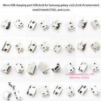 Wholesale Micro USB Charging port Connector Plug Dock Port for Samsung Galaxy s2 s3 s4 s5 note note2 and other model