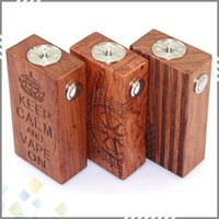 best compass - Best American Flag Wood Mod Design with American Flag Compass Crown Wood Box Mod for Dual Battery Thread DHL Free
