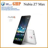 Wholesale ZTE Nubia Z7 Max GB Ram GB Rom G LTE Phone Snapdragon Quad Core GHz x1080 FHD OTG WCDMA MP Android