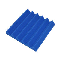 acoustic sound panel - Promotion Blue Color Absorbing Foam Wedge Sponge Sound Acoustic Panels for