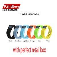 Bracelets à puce Avis-Activité bandes de poignet fibit tw64 bracelet Bracelet élégant Wristband Fitness tracker Bluetooth 4.0 fitbit flex Regarder pour ios Android