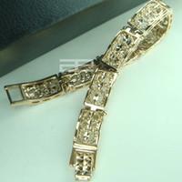 Wholesale 9K CT Rose Gold Filled beautiful Ladies Bracelet jewelry