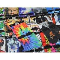 Wholesale Graphic Sublimated Crew Socks Styles ODD Sox Socks Emoji Printing D Printed Socks Unique Cool Skateboard Socks For Young