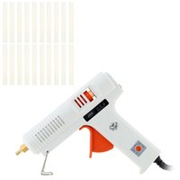 Wholesale 100 V W Professional Hot Melt Glue Gun with Glue Sticks Adjustable Temperature Repair Tool