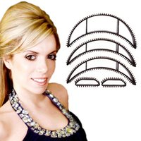 Wholesale New in Hair Clip Magic Bumpits Volumizing Leave In Inserts Hair Pump Beauty Styling Tool Kit Set Hollywood Hair Accessories
