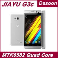 "In magazzino 4.5 ""schermo IPS originale Jiayu G3C G3 1 GB di RAM 4GB ROM MTK6582 Quad Core Android 4.2 dual sim GPS G3 smart phone / Koccis"