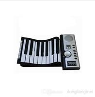 Wholesale 1pcs Portable Keys Electronic Digital Roll Up Roll Up MIDI Soft Piano Keyboard z915