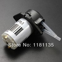 Wholesale 1pc V DC DIY Dosing Pump Peristaltic Dosing Head For Aquarium Lab Analytical Water