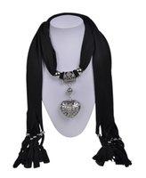 Wholesale WishCart Fashionangel Wings Diamond Crystal Hollow Heart Pendant Scarf Wraps Womensilk Wool Spring Multicolor Mix