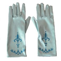 Wholesale Elsa s Magical Gloves Full Finger Gloves for Halloween Christmas Party Queen Elsa Gloves Cosplay Costume Accessories