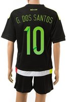 Wholesale Wholesalers Customized Mexico G DOS SANTOS Home Soccer Jersey Copa America Soccer Jerseys Buy Mexico Jerseys With Shorts