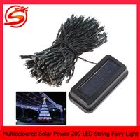 Wholesale Led String Lights Outdoor Use - Multicoloured Solar Power lamp 200 LED String Fairy Light for Christmas Party lamp suitable for indoor and outdoor use LEG_053