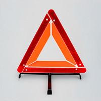 automotive signs - Three Foot Triangular Warning Frame Temporary Parking Warning Sign Lightshelf Automotive Warning Triangle Car