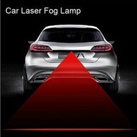Wholesale Newest V V Universal Car Anti rear end laser Fog Light Auto Laser Lamp Rainproof Anti fogging Aluminum Styling