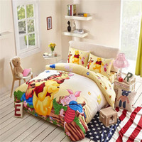 baby bedding pooh - Colorful Winnie Pooh And Piglet Bedding Modern Baby Bedding Baby Bedding For Boys Twin Queen