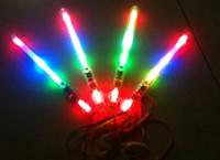 light up toys - 60pcs Color LED Flashing Glow Wand Light Sticks LED Flashing light up wand novelty toy