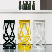 best bar stools - Best popular designer furniture Ribbon stool metal chair creative european style bar chair fashion bar stools color