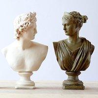 art figure studies - European Style Vintage Home Decoration Polyresin Figure Sculpture David Venus Resin Decoration Resin Craft Art Collectible