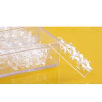 acrylic glass mold - Fake Nails set Dual Form Nail System for UV GEL Glass Nail Art Mold Tips Decoration Acrylic False Nails