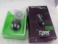 Wholesale Optical Mouse gaming mouse buttons Razer Naga hexagram breathing lights d mouse custom programming key MOBA game mouse with Retail Packag