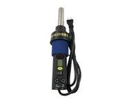al por mayor solder station hot air-Estación de soldadura caliente electrónica de calor Pistola de aire comprimido para desoldar IC SMD BGA
