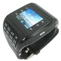 Wholesale mini Quad Band Touch Screen Cellphone Watch with MP Camera MP3 MP4 FM MCP_161