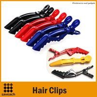 Wholesale Hot Sale Colorful Hair Styling Hair Clip Styling Tools Plastic Crocodile Hairdressing Sectioning Clamp Hair Styling Care