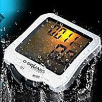 Wholesale Bike Code Table Waterproof Luminous Odometer Riding Plastic Convenient Odometer CM induction line code table comes with a battery cycling
