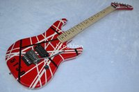 beginner series electric - OEM Factory Quality guitar RED and white E H series ARI tremolo Electric guitar
