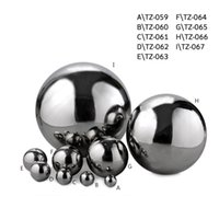 Wholesale 304 Stainless steel hollow ball decoration ball metal ball sphere decoration light of Decorative ball mm80mm100mm more size