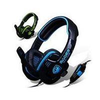 Wholesale SADES sa708 audio encoding game headphones good headsets mm computer music headband cheapest headset