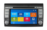 Wholesale HD din quot Car Radio Car DVD Player for Fiat Bravo With GPS Navigation Bluetooth IPOD TV SWC USB AUX IN Can bus box