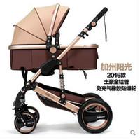 Wholesale Carretilla plegable Pushchair Folding Mother Baby Stroller Carrier Carrinho Pushchair Baby Strollers in reversible pushchair