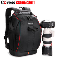 Wholesale Coress C8010 Professional Anti theft Camera Photo Backpack Waterproof Video Bag Case For Canon Nikon Digital SLR DSLR Cameras