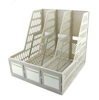 basket file boxes - File Tray file box desktop file holder plastic data rack pp file basket columns