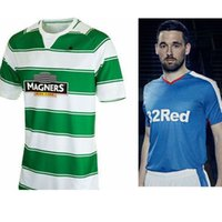 Cheap Free Shipping Mixed Team Drop Ship Celtics Short Sleeves 2015 2016 Football Shirt Kits Soccer Jersey Fusbal Camisa Camiseta